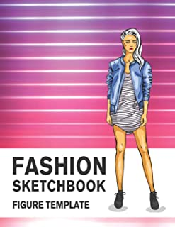 Best fashion figure template sketchbook Reviews