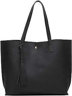 eb03b4c13c Simili cuir sac à main Femme Sac à main femme Tassel Rivet Sac à bandoulière  Arrivée