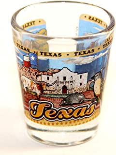 Oklahoma State Elements Map Shot Glass
