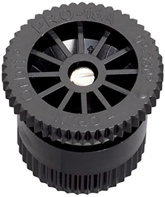 Orbit 53584 Adjustable Arc Sprinkler Spray Head Nozzle, 15-Feet, Pack of 12