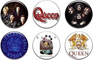 Set of 6 New Queen 1.25