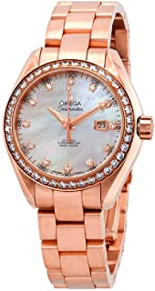 Seamaster Aqua Terra 18kt Rose Gold Automatic Ladies Watch 231.55.34.20.55.002