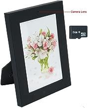 Romhn 8GB Photo Frame Hidden Camera Indoor Home Bedroom Spy Cameras Motion Detection Safe Home Guard DV Camcorder with Video