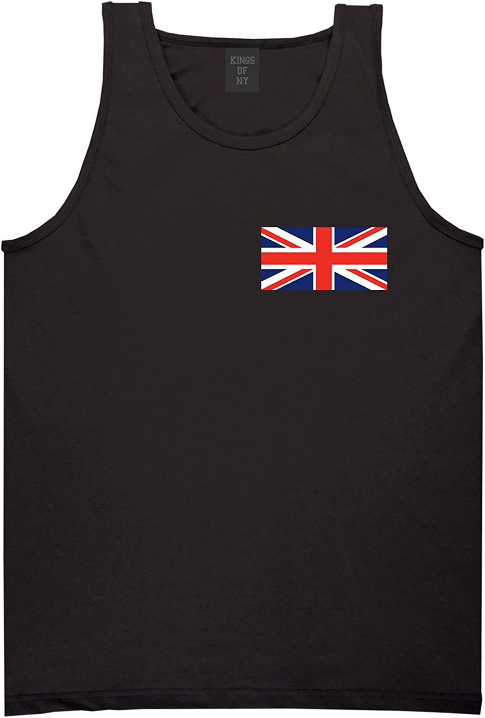 United Kingdom Flag Country Chest Tank Top Shirt