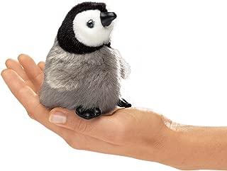 Folkmanis Mini Emperor Penguin Baby Finger Puppet