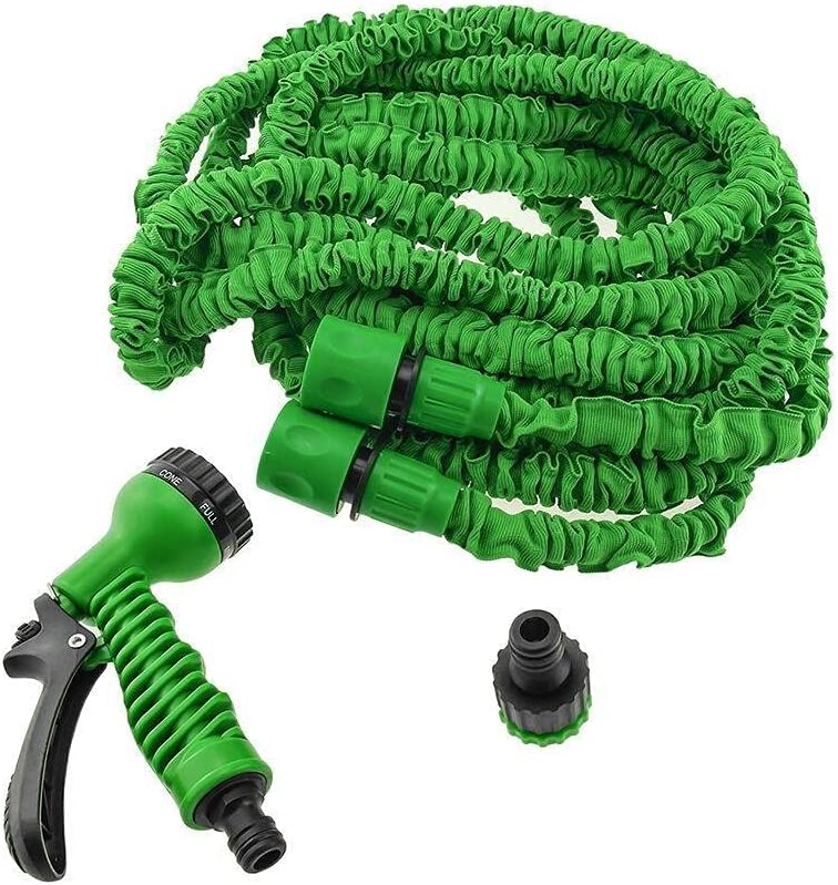 Expandable Garden Water Hose + Spray National products hose Wa New sales Nozzle