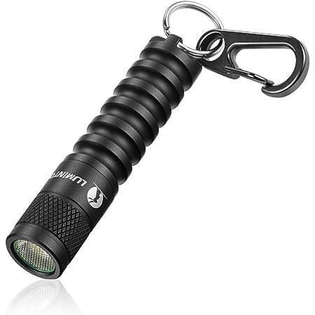 LUMINTOP EDC01 キーライト LED懐中電灯 最大120ルーメン 実用点灯36時間 3モード IPX8防水 1.5M耐衝撃 単4電池対応 【五年保証】