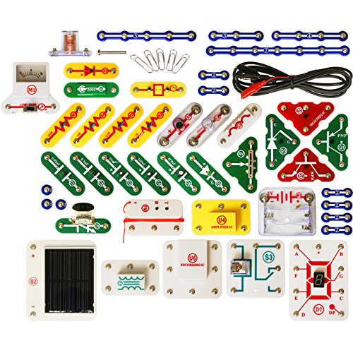 Snap Circuits UC60 Electronics Exploration Upgrade Kit | SC100 to SC750 | Upgrade Junior to Extreme