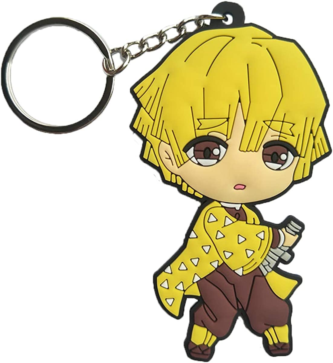 【JUMP SHOP LIMITED】DEMON SLAYER Reflect Key Ring Tanjiro... Kimetsu no Yaiba