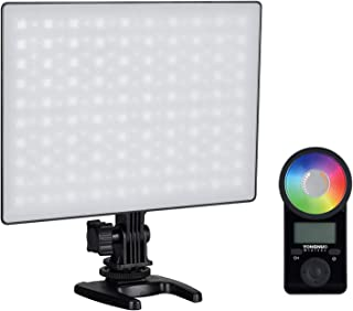 YONGNUO YN300 Air II LED Video Light Panel RGB 3200K-5600K Photography Fill-in Lamp 10 Lighting Effects CRI 95+ with Remot...