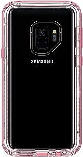 Lifeproof Next Series Drop-Dirt-Snowproof (Not Waterproof) Case for Samsung Galaxy S9 Plus - Retail Packaging - Cactus Rose (Pink/Clear)