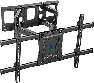 Support Mural TV Inclinable et Orientable - pour 37-70 Pouces de Plat LCD LED Téléviseurs,Max. VESA:600x400mm,Capacité Max...