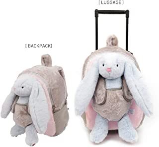 Funday Toddler Backpack with Removable Wheels & Rabbit Backpack for Kids