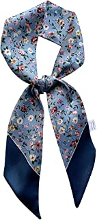 DEOIRC Fashion Literary Floral Bag Handbag Ribbon Scarf Package Band Hair Head
