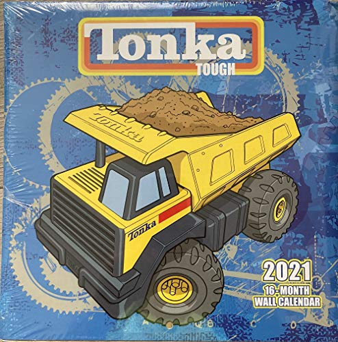 Tonka Tough 2021 16-Month Wall Calendar, Leap Year Publishing LLC