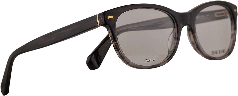 Bobbi Brown The Gabby Eyeglasses 4917140 Black Grey Havana w Demo Clear Lens YV4
