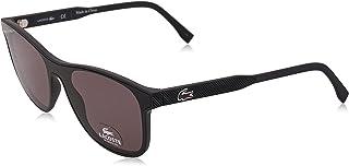 نظارة شمسية للرجال من لاكوست، لون اسود، 52 ملم L907S
