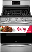 Frigidaire Gallery GCRG3060AF 5 Cu.Ft. Stainless Free-Standing Gas Range with Air Fry