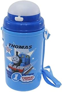 Thomas Sanitary Bottle with Carrying Strap and Straw (Japan Import)
