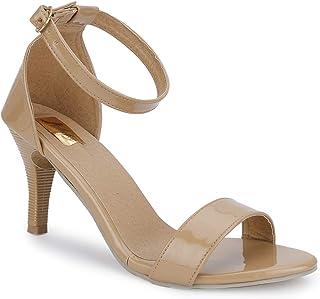 SHOFIEE Women's Ankle Straps Party Wear & Casual Wear Heels