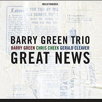 Great News (feat. Chris Cheek & Gerald Cleaver)