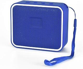 New Bluetooth Speaker Fashion Colorful Wireless Mini Bluetooth Speaker Outdoor Portable Bluetooth Speaker,Blue