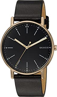 [スカーゲン]SKAGEN 腕時計 シグネチャー 40mm クオーツ ブラック SKW6401 メンズ [並行輸入品]