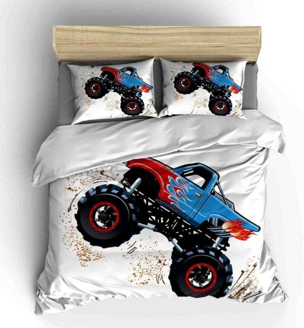 dsgsd Queen Duvet Covers Cool Bedd Off-Road 170×225cm Manufacturer regenerated product Vehicle 3D Max 59% OFF