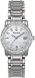 ブローバ Women Watch Bulova 96R105 Dress Diamond Stainless Steel Mother of Pearl Dress Wa 女性 レディース 腕時計 【並行輸入品】