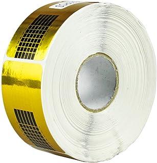 frcolor chiodo di forme, chiodo di carta-uvgel acrilico goldener di espansione a punte del chiodo di carta (500pcs)