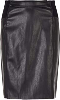 Vero Moda Vmbuttersia HW Coated Skirt Noos Gonna Donna