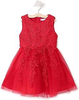 Hopscotch Baby Girl's Empire Knee Length Dress