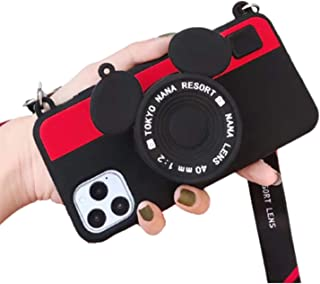 QGGESY Mochila Estuche Ultrafino Anti-caída para teléfono móvil/Cubierta Protectora(con cordón),Adecuado para iPhone 12 Mi...