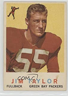 Jim Taylor (Football Card) 1959 Topps - [Base] #155