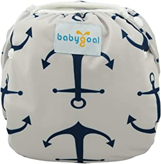babygoal Reusable Swim Diaper, Washable Swimsuits for Babies 0-2 Years, Swimming Lessons ZSWDF02