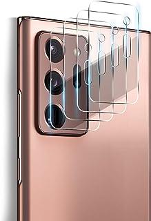 ELYCO [4 Pièces] Caméra Arrière Protecteur pour Samsung Galaxy Note 20 Ultra, [Anti-Rayures] 0.15mm HD Caméra Verre Trempé...