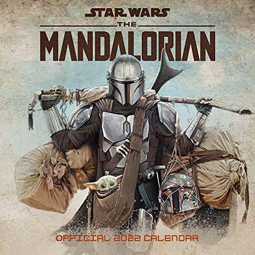 Official Star Wars: The Mandalorian 2022 Calendar - Month To View Square Wall Calendar