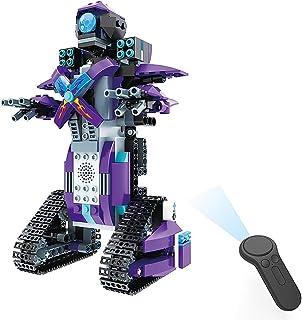 Docooler BB13003 M3 RC Robot 333PCS DIY 2.4G Smart Remote Control Building Block Robot Toy