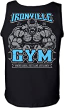 Ironville Gym Gorilla - Where Gorilla Size Gains are Earned Lifting Tank Top