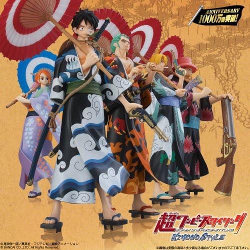 Bandai Shokugan Super One Piece Styling Kimono Style Spielzeug Figur
