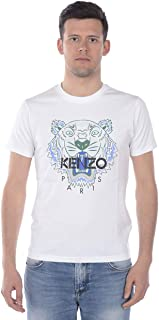Kenzo Mens 5TS050 Tiger T-Shirt in White