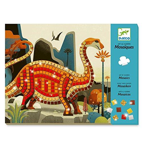 Djeco Kreativ Set Mosaikbilder Dinosaurier