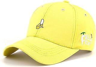 Buecoutes Bananas in Pyjamas Curved Edge Baseball Cap Fashion Snapback Hat Black
