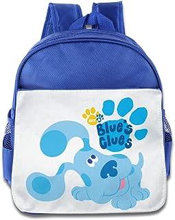 Quasi Blue's Clues Dog Cartoon Custom Children Kids Girls Boys Baby School Bags Book Bags Backpack