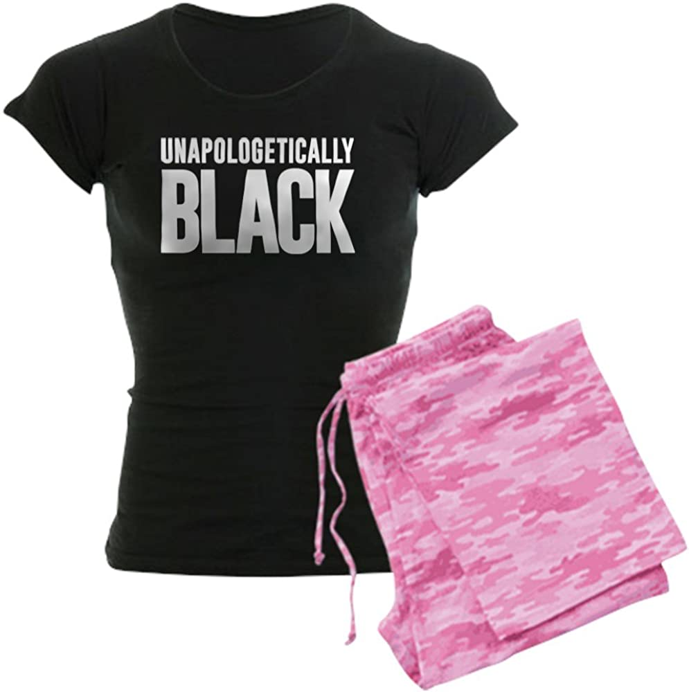 lowest price CafePress Unapologetically Black Max 86% OFF PJs Women's