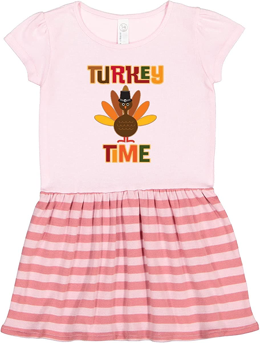 inktastic Animer Memphis Mall and price revision Thanksgiving Turkey Toddler Time Dress