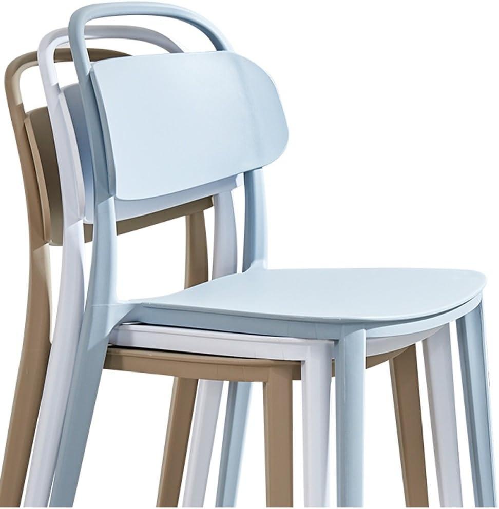 WGZ- Chaise de Salle à Manger Moderne Minimaliste Chaise de Bureau créatif en Plastique Simple (Color : B) C