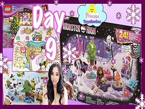 Clip: Surprise Toys Advent Calendar with Princess ToysReview Day 9