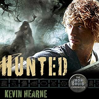 Hunted     The Iron Druid Chronicles, Book 6              Written by:                                                                                                                                 Kevin Hearne                               Narrated by:                                                                                                                                 Luke Daniels                      Length: 9 hrs and 52 mins     36 ratings     Overall 4.8