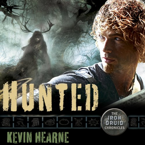 Hunted: The Iron Druid Chronicles, Book 6 audiobook cover art